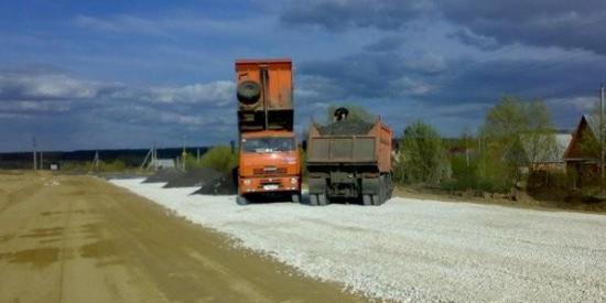 Гравийные дороги в Великом Новгороде