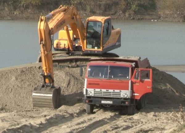 Добыча песка в Великом Новгород