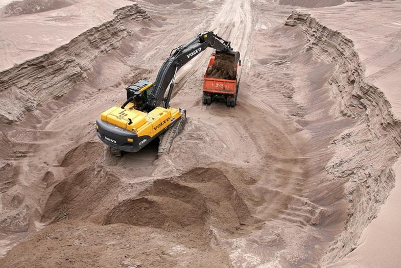 Карьерный песок в Великом Новгороде