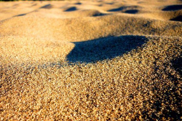 Песок приближенно