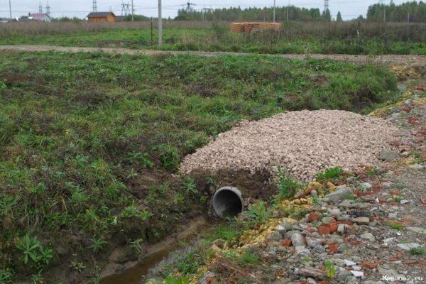 Строительство въезда на участок в Великом Новгороде