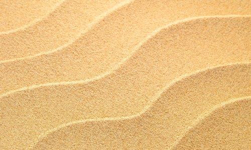 Песок волнами