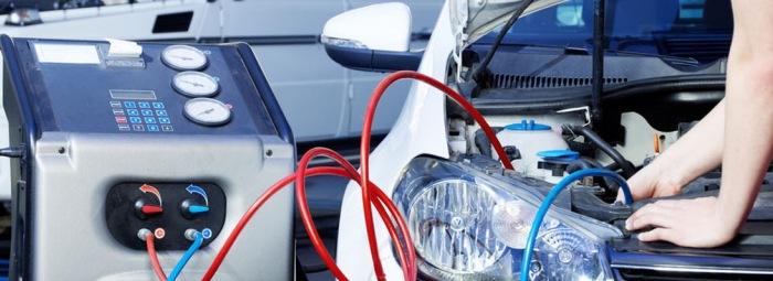 Заправка кондиционера машины