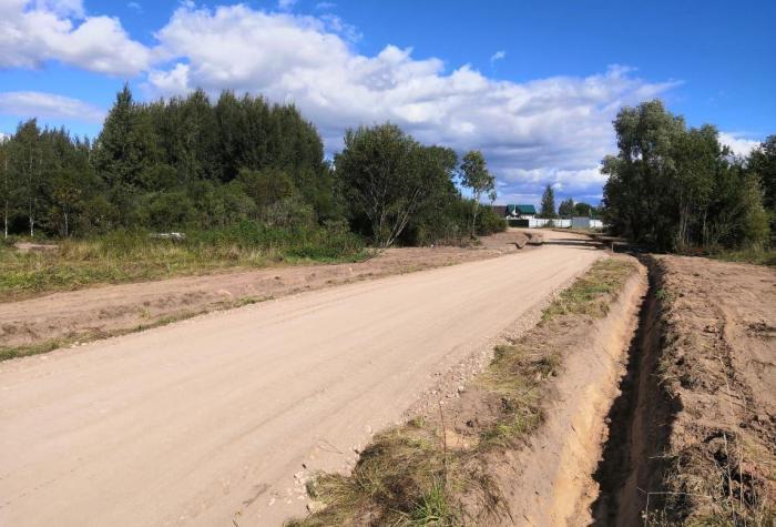 Построенная дорога